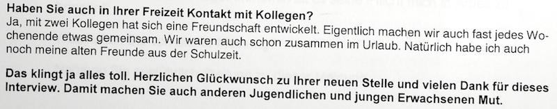 Deutsch Prüfung Vab 2015 A2 Eine Erfolgsgeschichte Brief