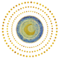 Mond Vincent van Gogh Starry Night Detail - Jack Joblin Design - Spreadshirt Geschenkidee Weihnachten.png